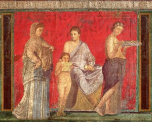 Riti bacchici Pompei